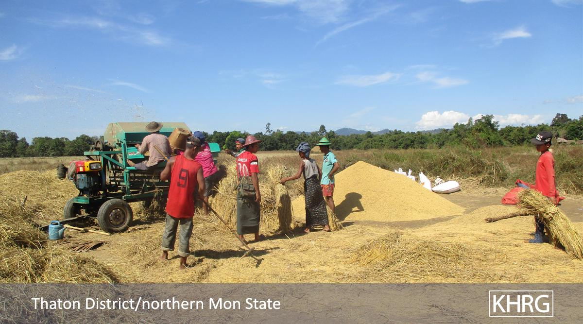 Forced relocation and destruction of villagers' shelters by